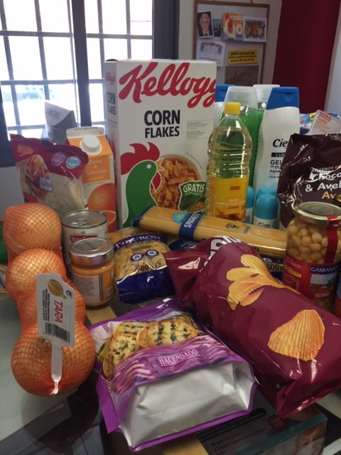 OUR FOOD BANK OPENS ITS DOORS